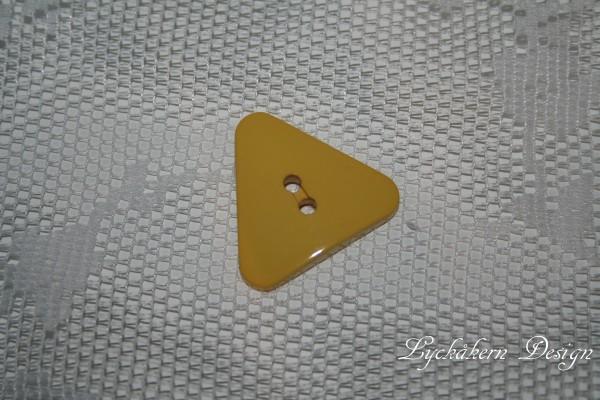 Knapp trekant gul 2