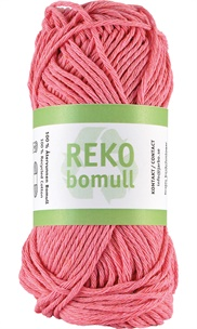 Reko bomull Bubble gum pink 24228 (61)