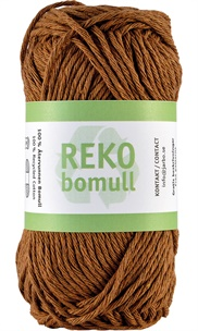 Reko bomull Coffee brown 24219 (90)