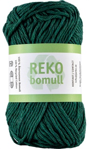 Reko bomull Emerald green 24215 (14)