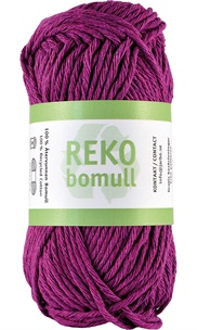 Reko bomull Heather purple 24226 (38)
