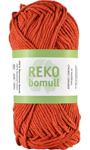 Reko bomull Terracotta Orange 24223 (93)