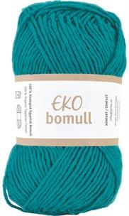 Eko Bomull Dark turquoise 63214-0013