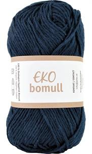 Eko Bomull Navy blue 63212-0008