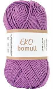Eko Bomull Purple 63209-0006