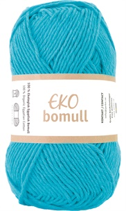 Eko Bomull Turquoise 63214-0013